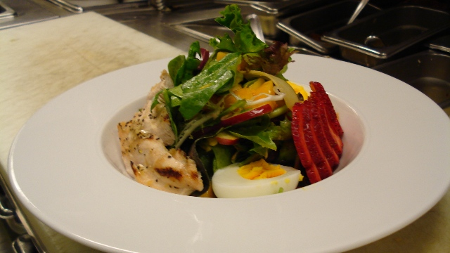 Organic Spring Babe Mixed Salad by Chef Honore Gbedze