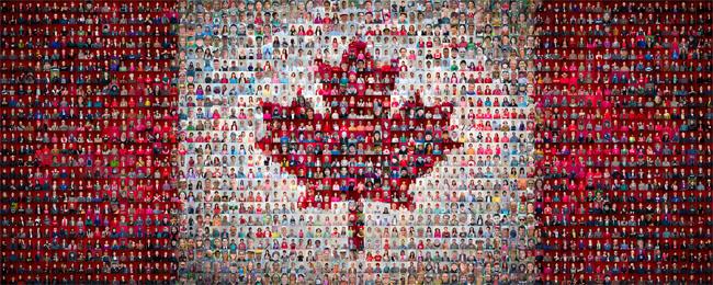 canadian mosaic Photo source victorianmosaic