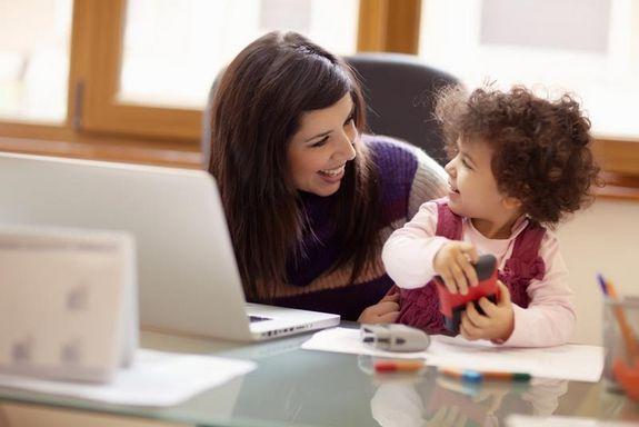 Working Mom Photo Credit: Diego Cervo | Shutterstock