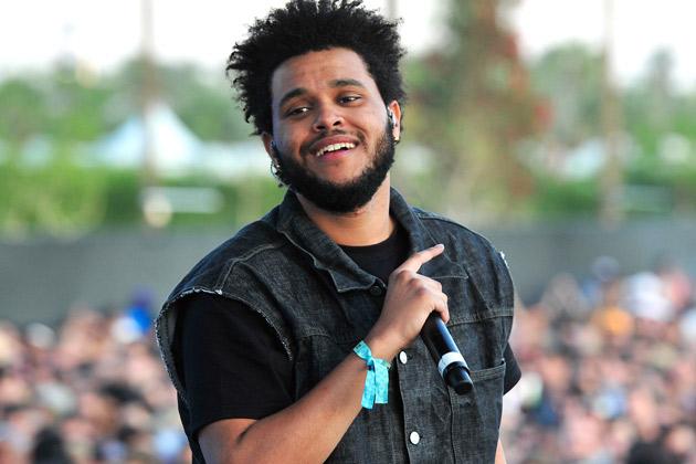 Scarborough native The Weeknd (aka Abel Tesfaye)