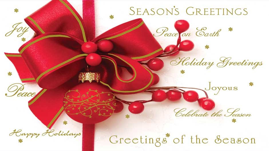 Season\'s Greeting\'s | The Afro News