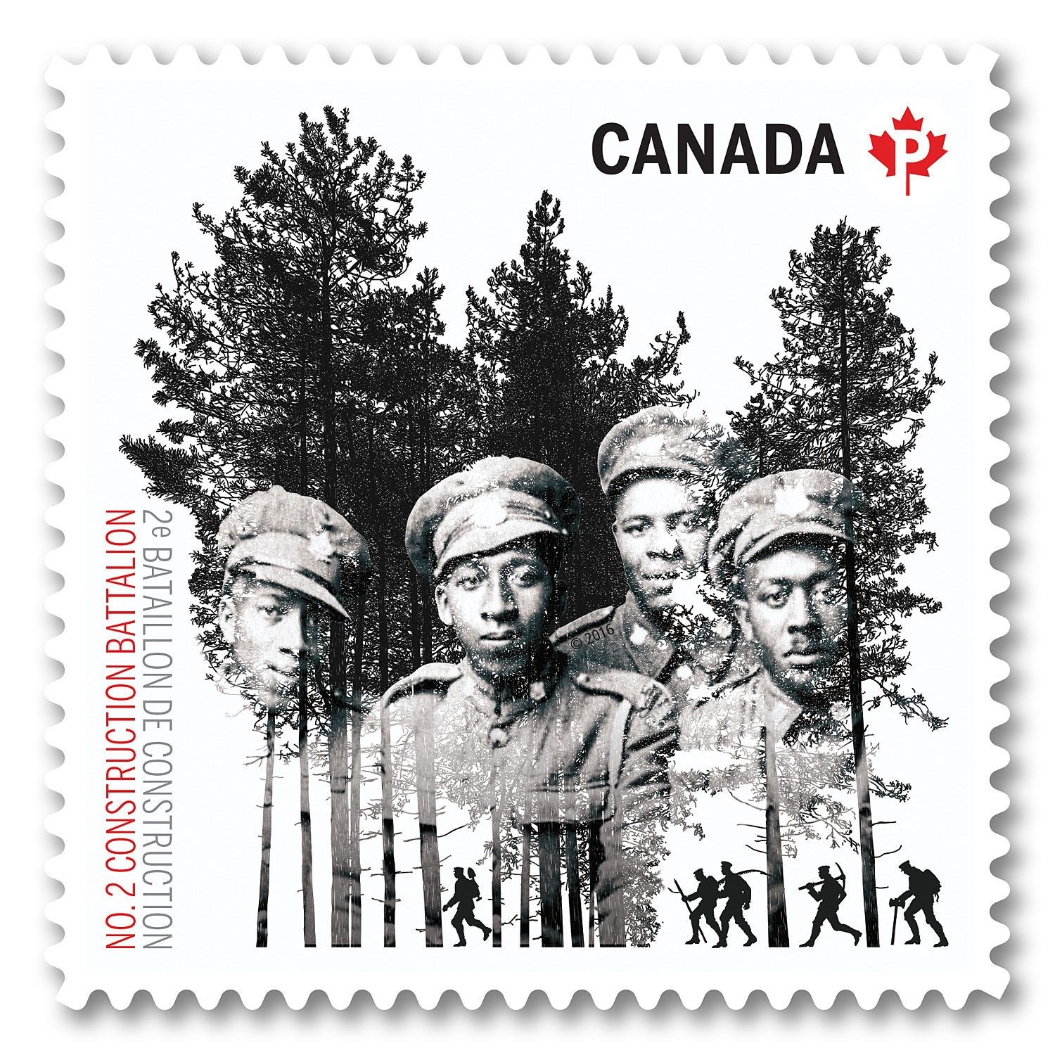 Stamp Honours Black Canadian Unit in First World War | The Afro News
